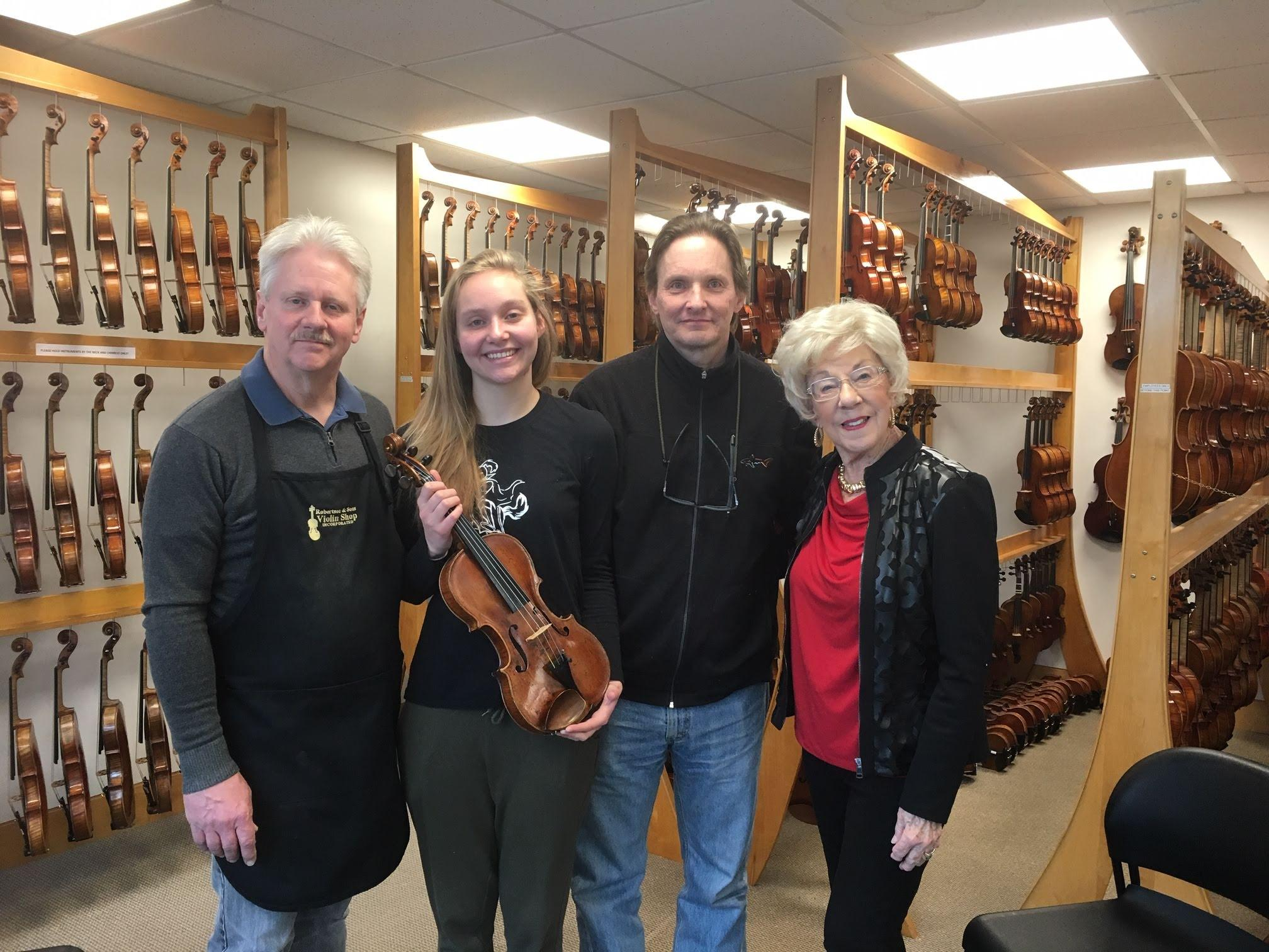 2019 Jackie McGehee Young Artists' Competition Winner of the Kingsley Hoffman Violin