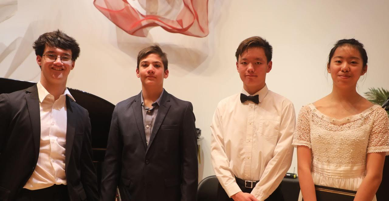2019 Jackie McGehee Young Artists' Competition Piano Winners
