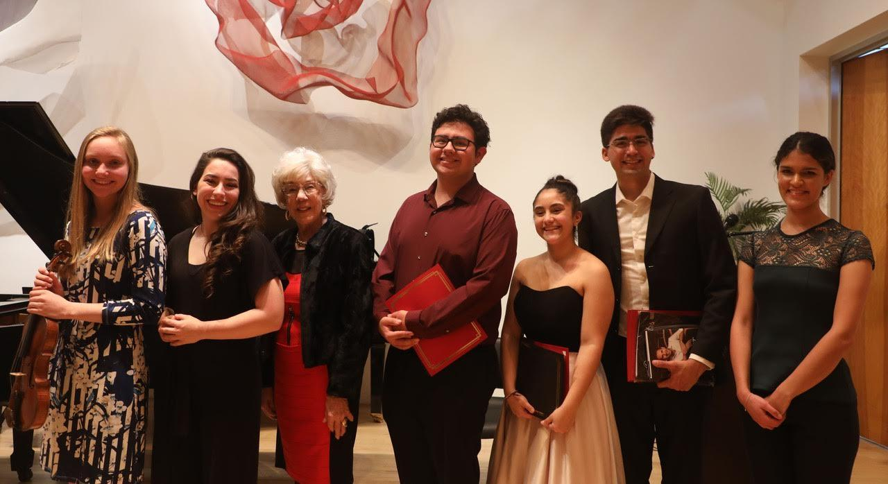 2019 Jackie McGehee Young Artists' Competition Strings Winners