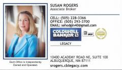 Coldwell Banker - Susan Rogers
